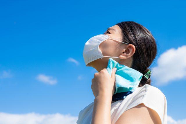 マスク熱中症対策