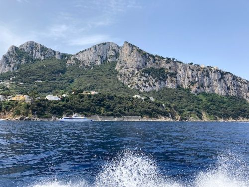 カプリ島(上野真弓撮影)