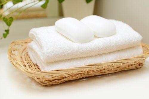 入浴(タオル・石鹸)
