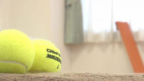 テニスボールでほぐす方法