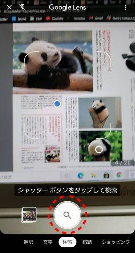 Googleレンズ検索前